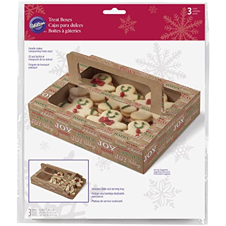 Amazon.com: Wilton 415 – 2333 3 Count Sweet Swap Cajas de ...