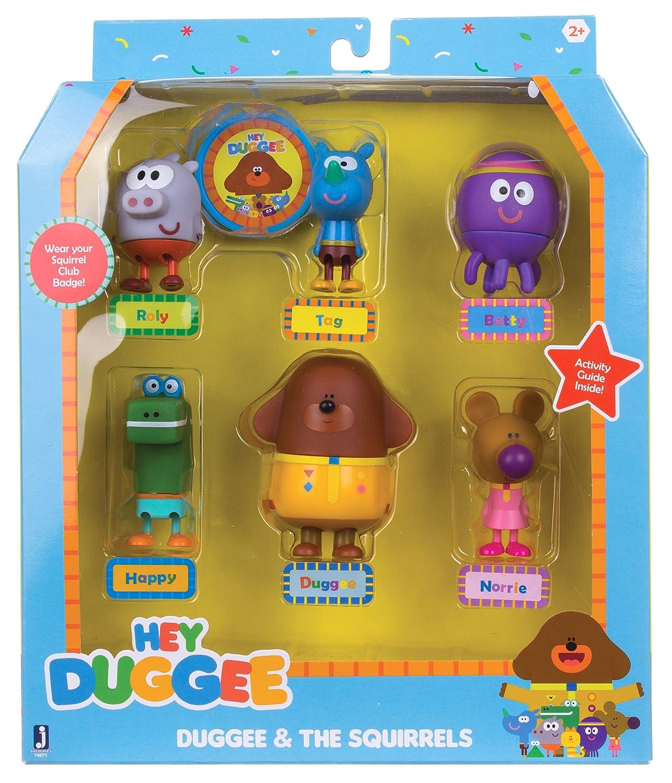 Hey Duggee figurine set Golden Bear Products Ltd 1880