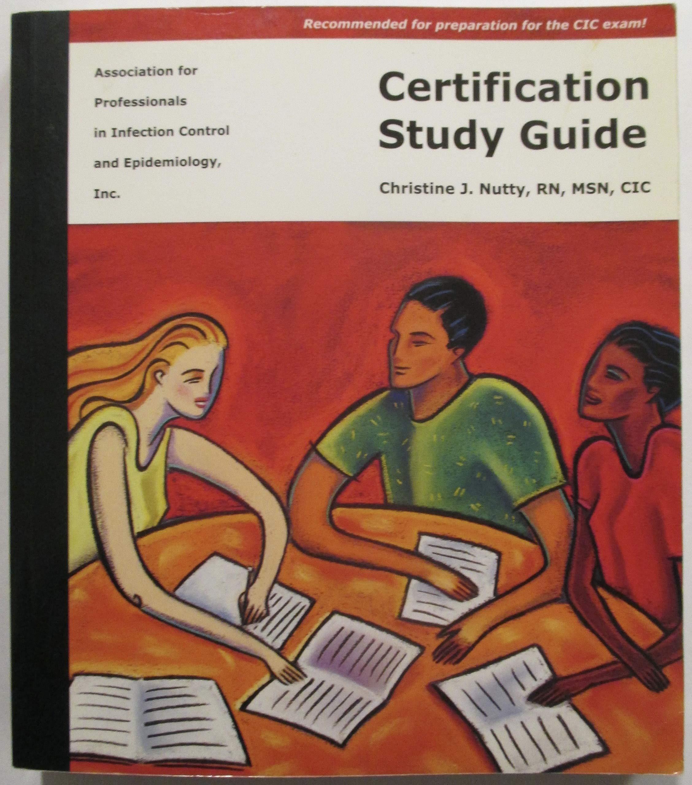 2003 Apic Certification Study Guide Christine J Nutty Amazon