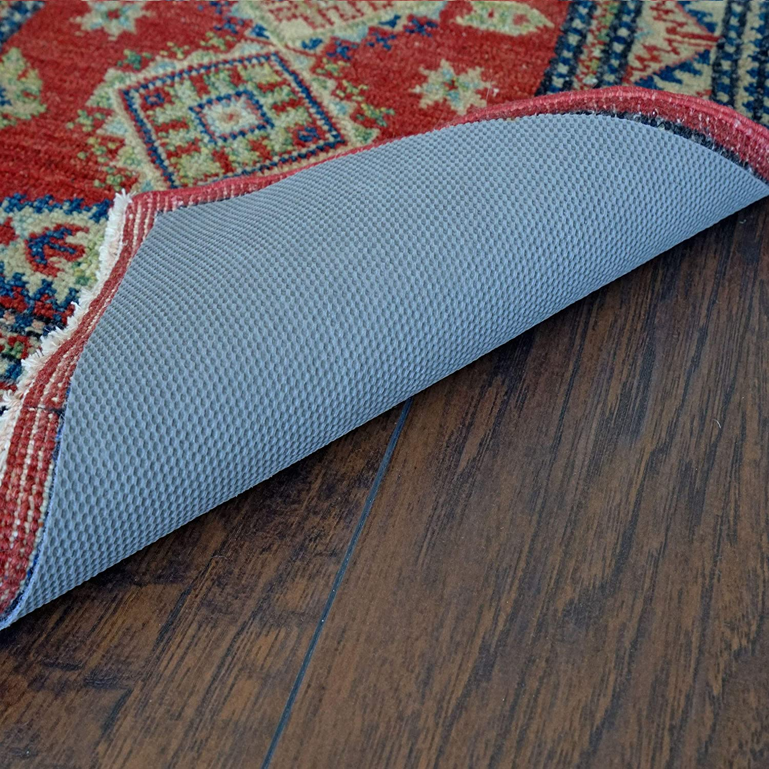 9 x 12 Gray Rug Pad Central RH-912 Thin Profile Non Slip Rug Pad