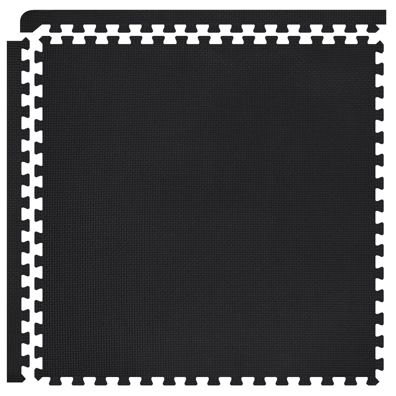 人気定番 FIELDOOR/ トレーニング エクササイズ用ジョイントマット 防音 8枚 キズ防止 B018TX7ASY【A】ブラック 1cm厚/ 1cm厚 8枚【A】ブラック/ 1cm厚 8枚, タノハタムラ:059d7f0a --- arianechie.dominiotemporario.com