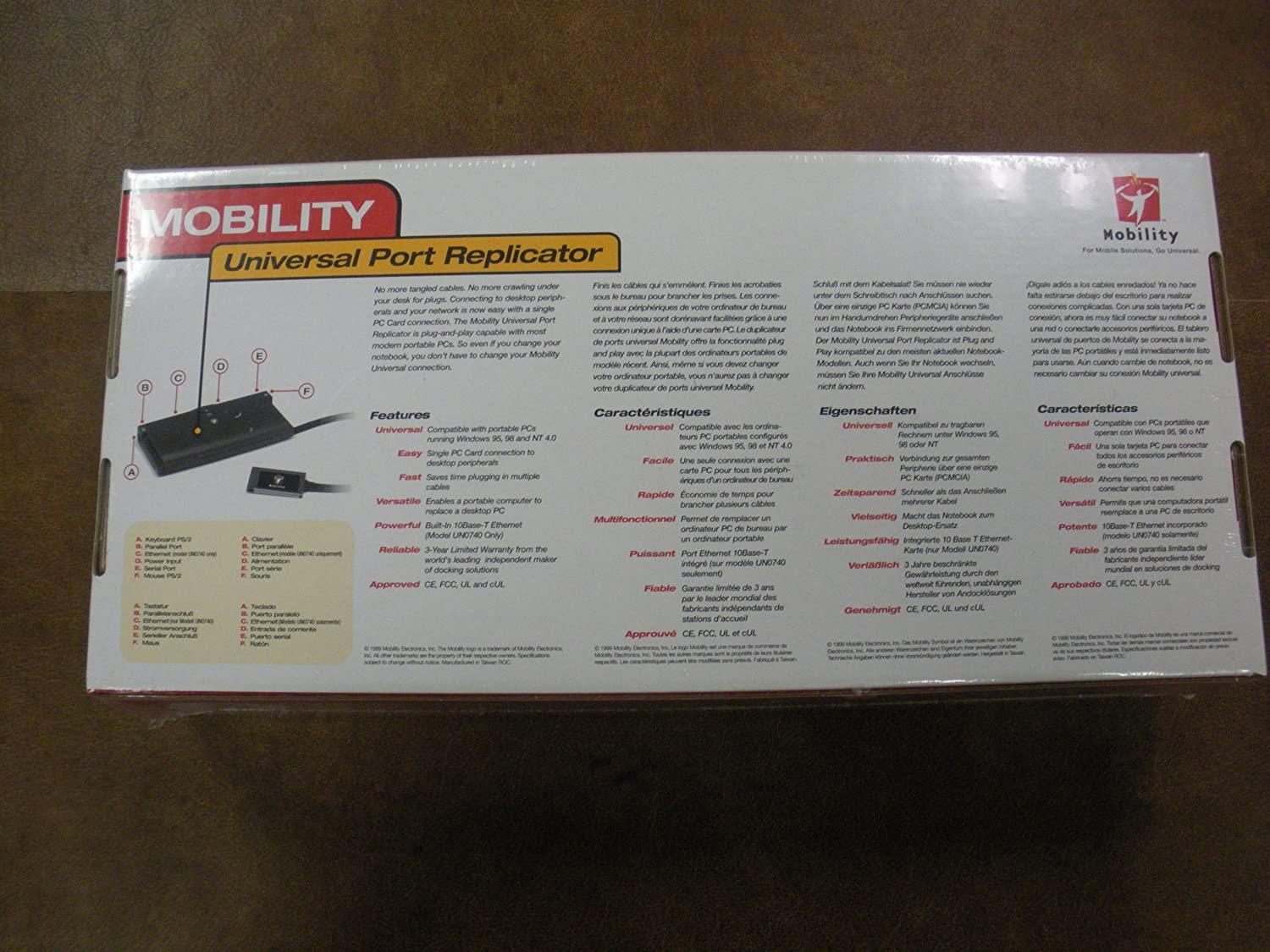 Amazon.com: Mobility Universal Port Replicator Un0700-10 ...
