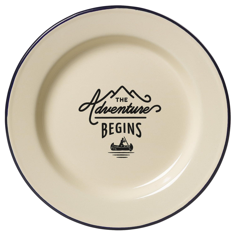 Gentlemen's Hardware Dinner Plate Wild & Wolf - L&G AGEN086