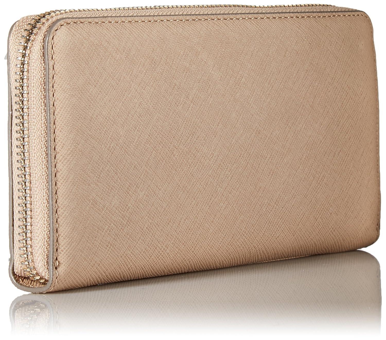 Ecco Womens Iola Large Zip Wallet, Beige (Dune), 2.5x10x19.5 Centimeters (B x H x T) Ecco