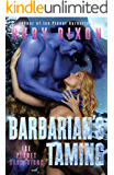 Barbarian's Taming: A SciFi Alien Romance (Ice Planet Barbarians Book 9) (English Edition)
