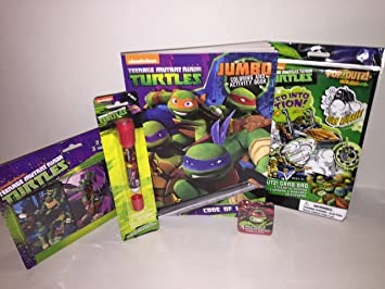 Amazon.com: Teenage Mutant Ninja Turtle Bundle – 5 pieza ...
