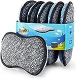 Multi-Purpose Scrub Sponges for Kitchen by Scrub- it - Non-Scratch Microfiber Sponge Along with Heavy Duty Scouring…