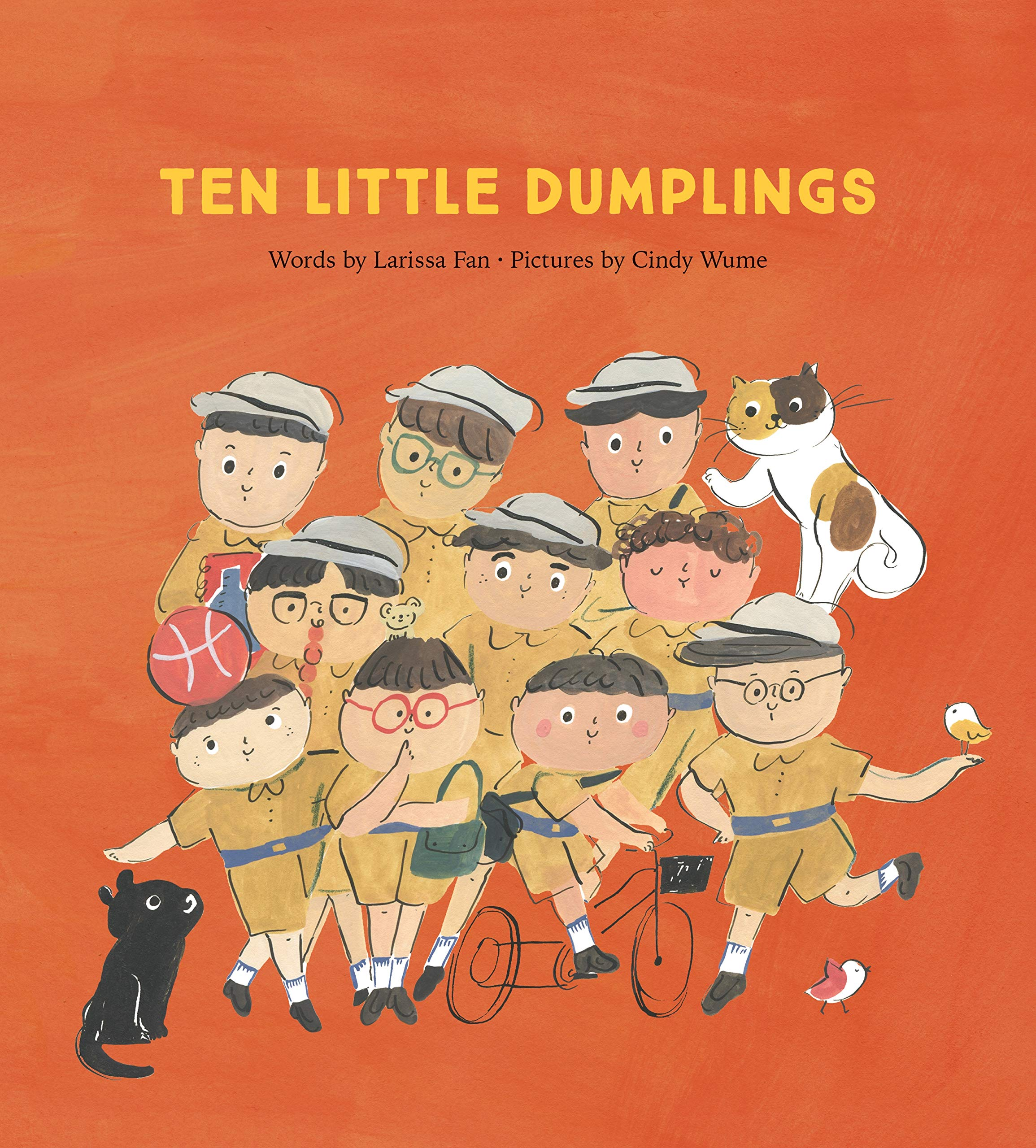 Ten Little Dumplings: Fan, Larissa, Wume, Cindy: 9780735266193: Amazon.com:  Books