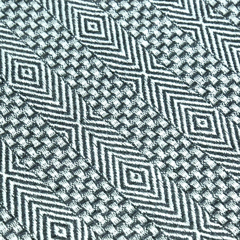 127 x 152 cm Silla y Cama RAJRANG BRINGING RAJASTHAN TO YOU Manta Super Suave y Grande Calentito Edredon de Algodon Gris Carbon para Sof/á
