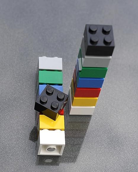 Lego 10  x Platte 1x1 mit Zahn Kralle 49668 dunkelrot neuw.