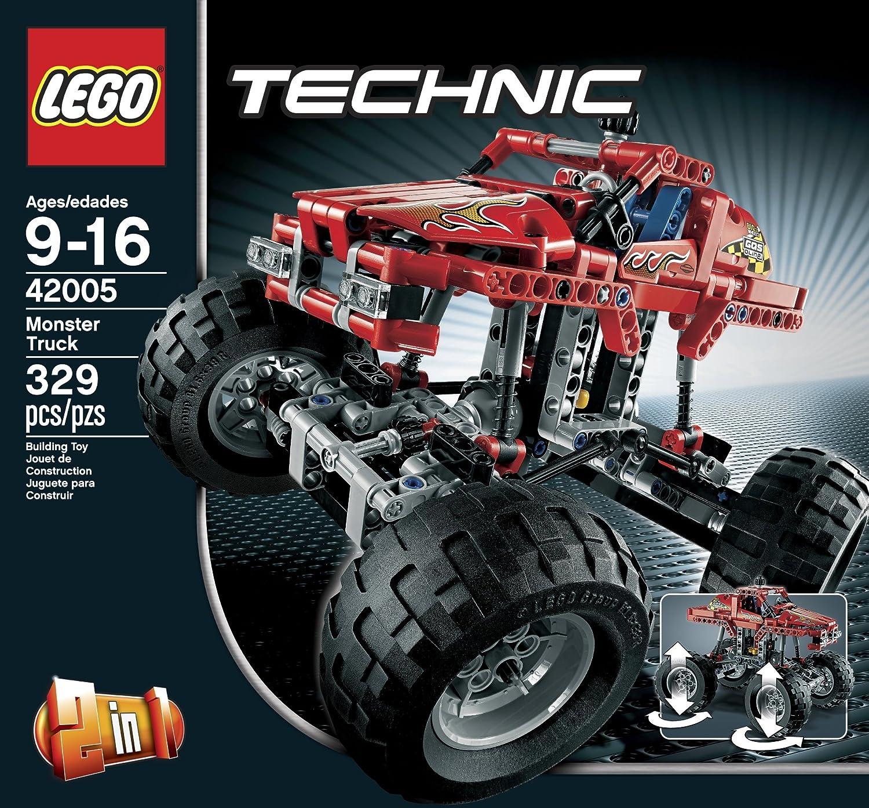 amazon com lego technic 42005 monster truck toys u0026 games