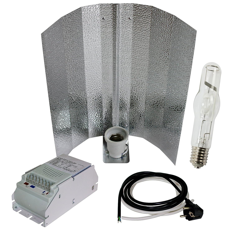 250W MH Bausatz Wuchslampe Pflanzenlampe Wuchslicht Growset NDL