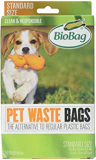Amazon.com : BioBag, Pet Waste Bags, 50 Count : Pet Supplies