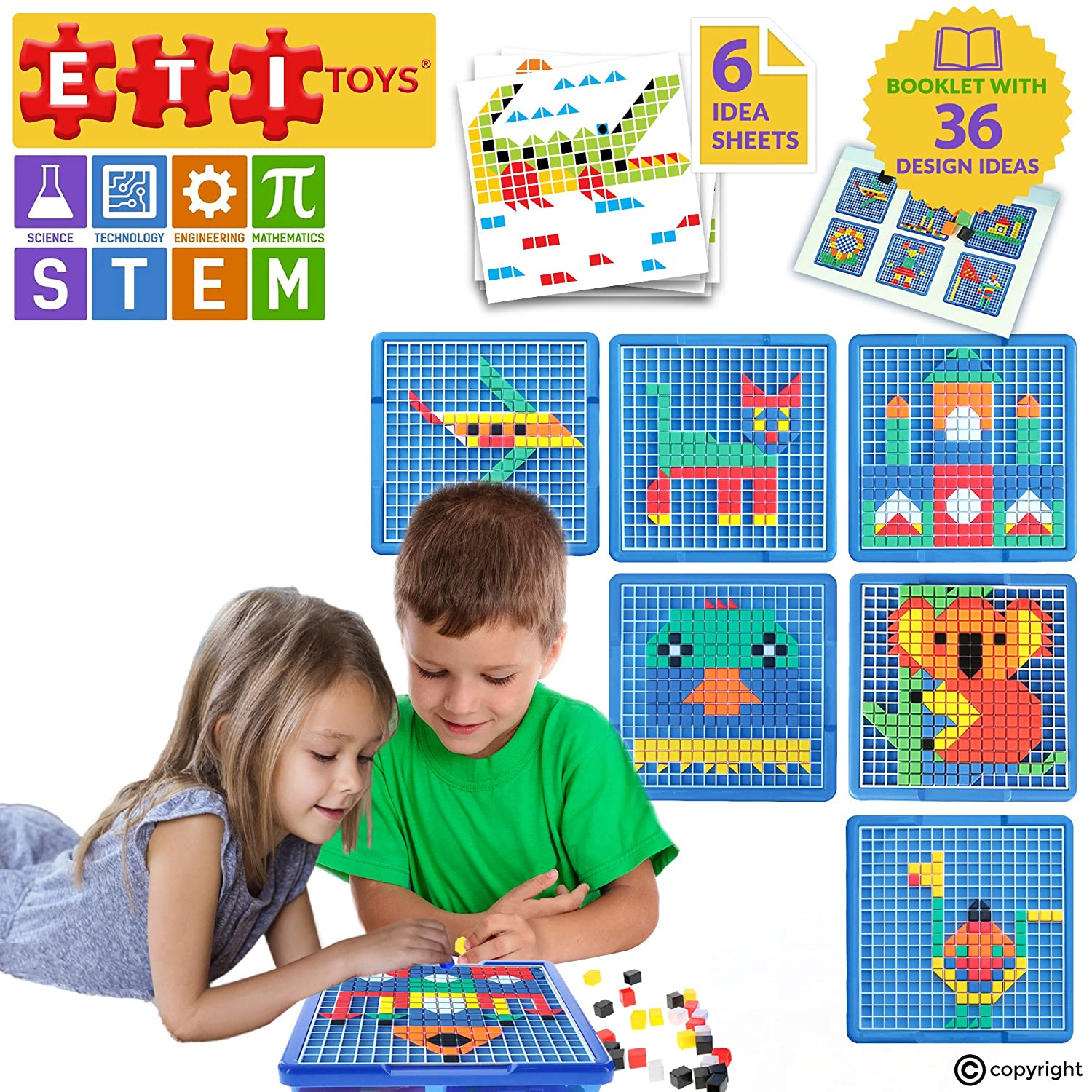 Amazon ETI Toys Engaging Jigsaw Puzzle for Boys and Girls
