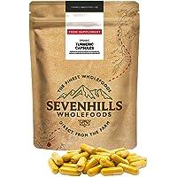 Sevenhills Wholefoods Capsule Di Curcuma Biologico 500mg, 360 Capsule