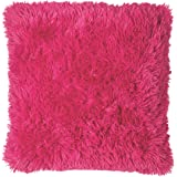 Catherine Lansfield Cuddly Cushion Cover, Hot Pink