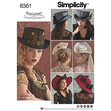 fee76f9db72 Simplicity Creative Patterns US8361A Sewing Pattern Costumers A (S-M-L)