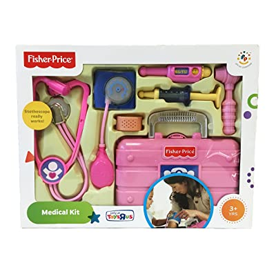 Fisher-Price Exclusive Medical Kit Pink: Toys & Games