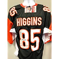 $109 » Tee Higgins Cincinnati Bengals Signed Autograph Custom Jersey JSA Witnessed Certified