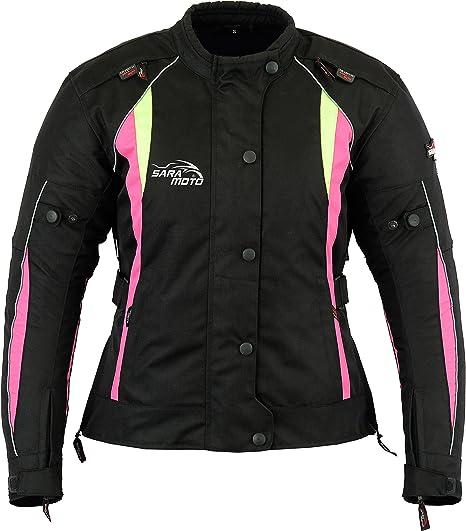 Manteau imperm/éable de veste de moto de Cordura de moto de moto de textile de femmes pour des dames Taille 3X Large