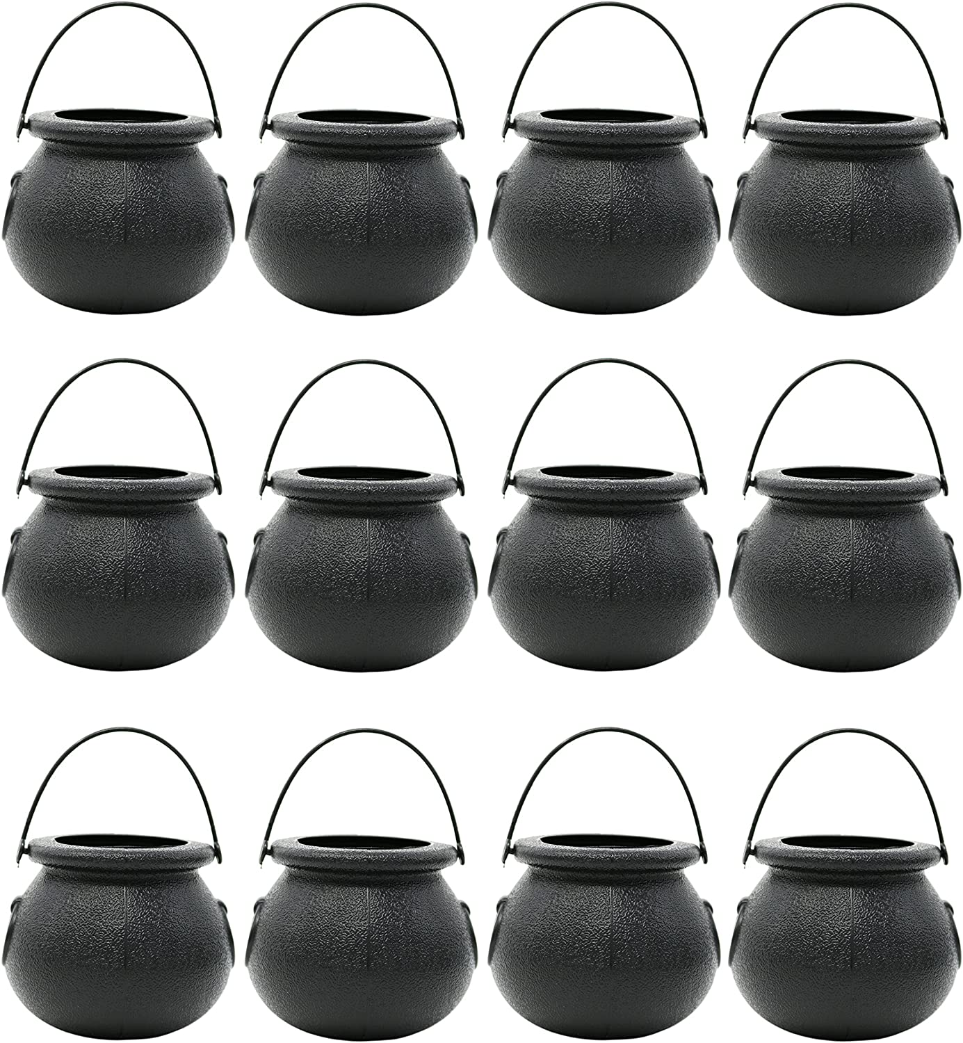 1 Dozen Party Decoration Supplies by Big Mo/'s Toys Candy Cauldron Kettles