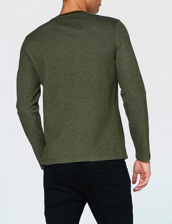 Garcia Herren Sweatshirt Modern Army