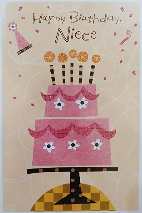 Amazon happy birthday niece greeting card thought of in a happy birthday niece greeting card quotthought of in a warm and special m4hsunfo