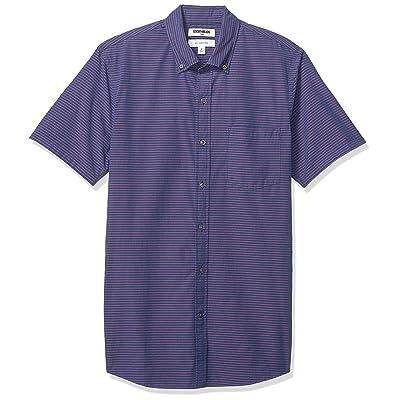 Brand - Goodthreads Men's Standard Slim-fit Short-Sleeve Poplin Shirt: Clothing