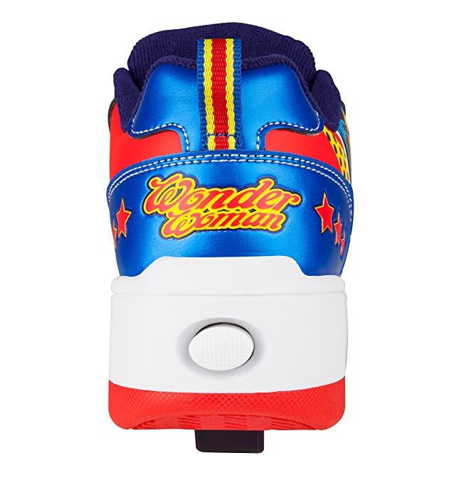 Amazon.com: Heelys Pop Bash Wonder Woman Junior Girls Sneakers, Size 2: Shoes