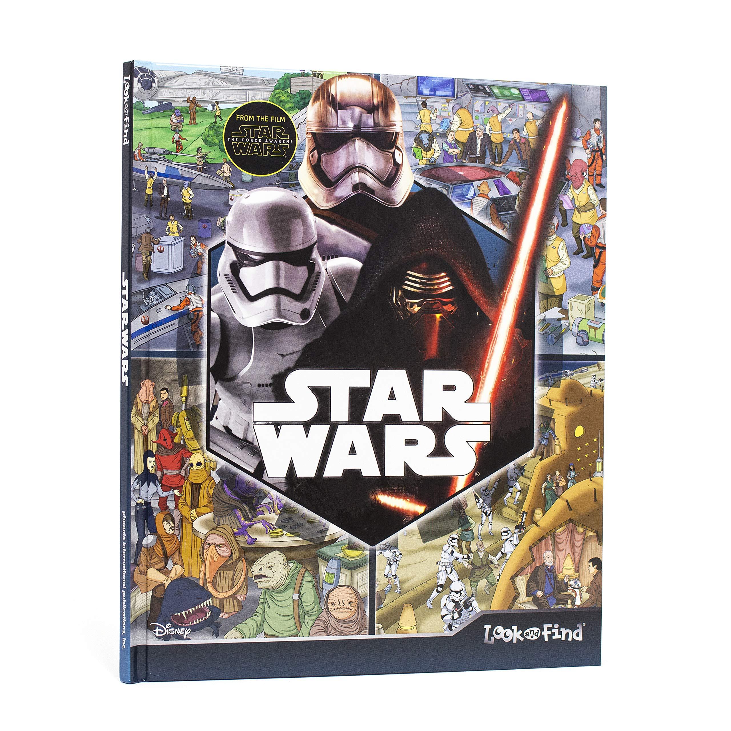 Download Star Wars Episode VII The Force Awakens Look and Find - PI Kids pdf