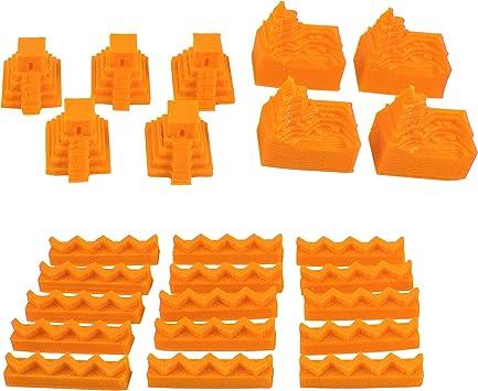 Build3D - Piezas de Repuesto para instaladores de Catan - Incan Empire - Un Solo Jugador, Color Naranja: Amazon.es: Juguetes y juegos