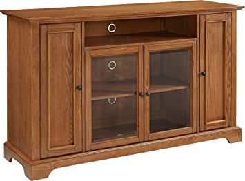 Awesome Crosley Furniture Campbell 60 Inch Tv Stand Oak Machost Co Dining Chair Design Ideas Machostcouk