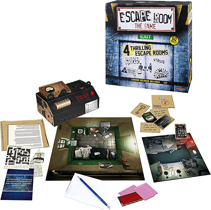 Escape Room: The Game - versión inglesa: Amazon.es: Juguetes y juegos