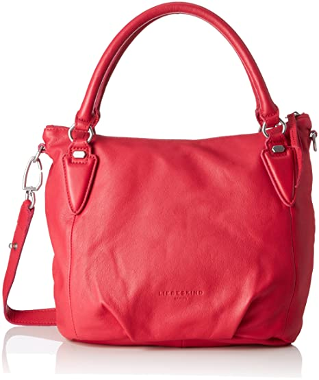 8a78dae814e6 Liebeskind Berlin Women s Ginaf8 Leather Satchel, Bright Rose ...