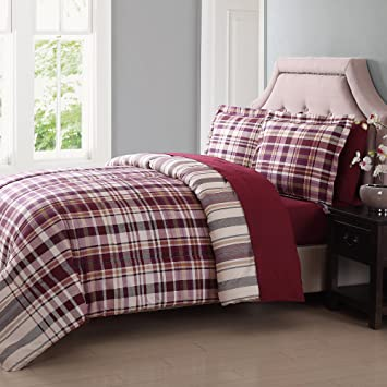 red blue classic tommy comforter with plaid cover navy duvet set hilfiger bedroom