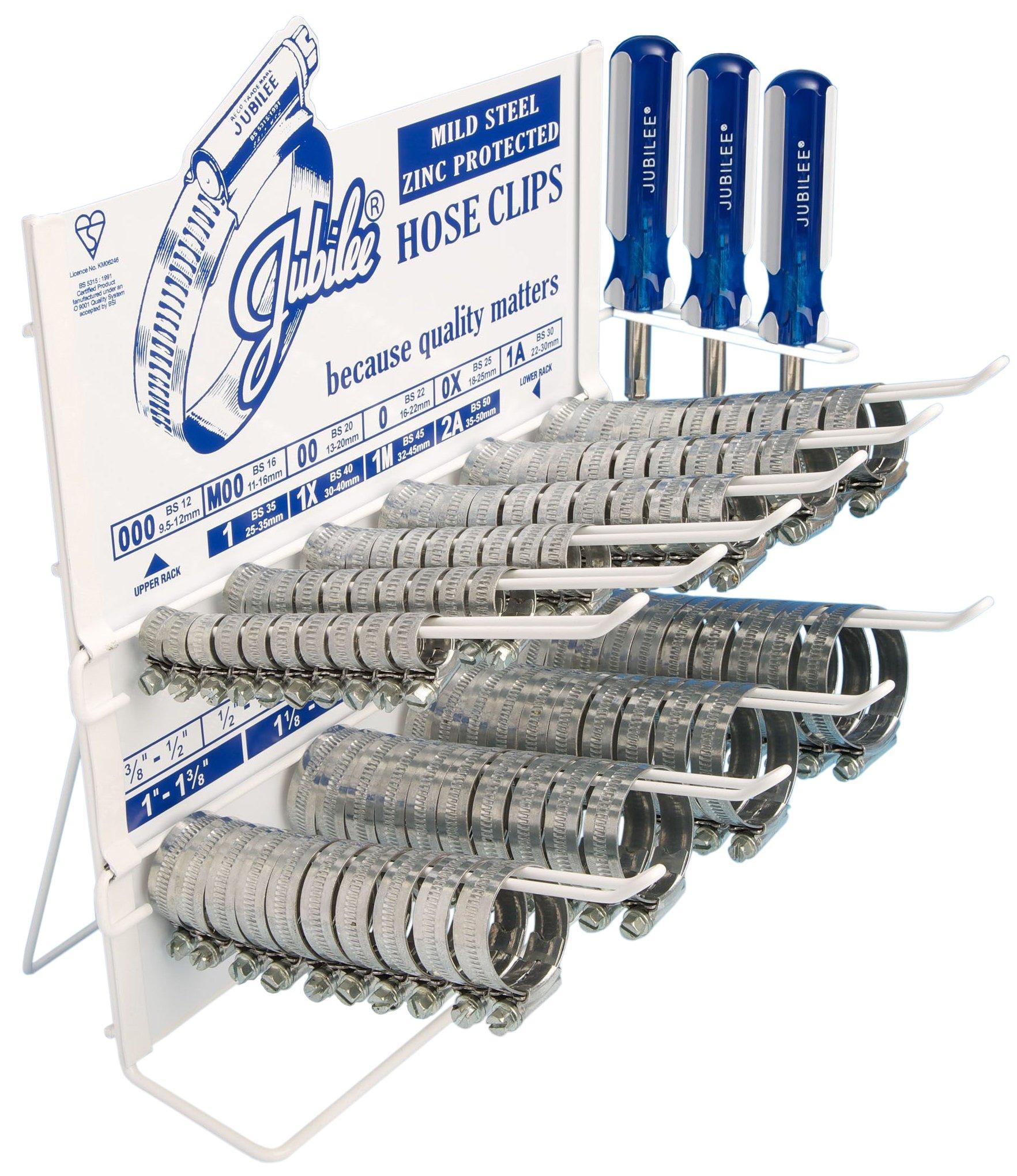 Jubilee CD100 Clip Dispenser (Pack of 100)