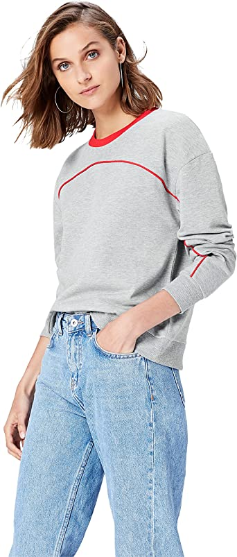 Paris Embroidered Sudadera Mujer find Marca