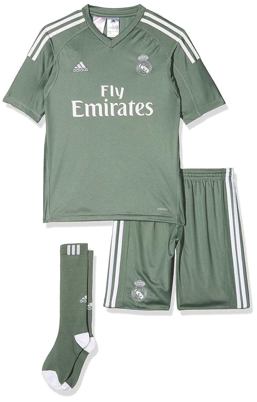 Adidas Kinder Real Madrid Torwart Mini-heimausrüstung