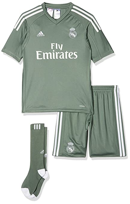 6688455c81d Image Unavailable. Image not available for. Color  adidas 2017-2018 Real  Madrid Home Goalkeeper Full Kit ...