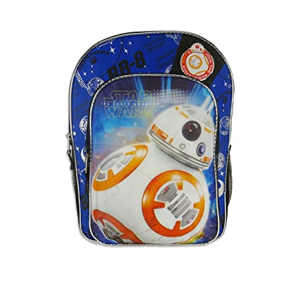 """Disney Star Wars Episode 7 Backpack """"The Force Awakens"""" Featuring BB8"""