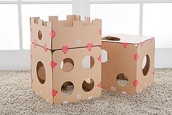 BOXKITTY - Casa Modular para Gatos - Castillo, Juego de Gatos ...