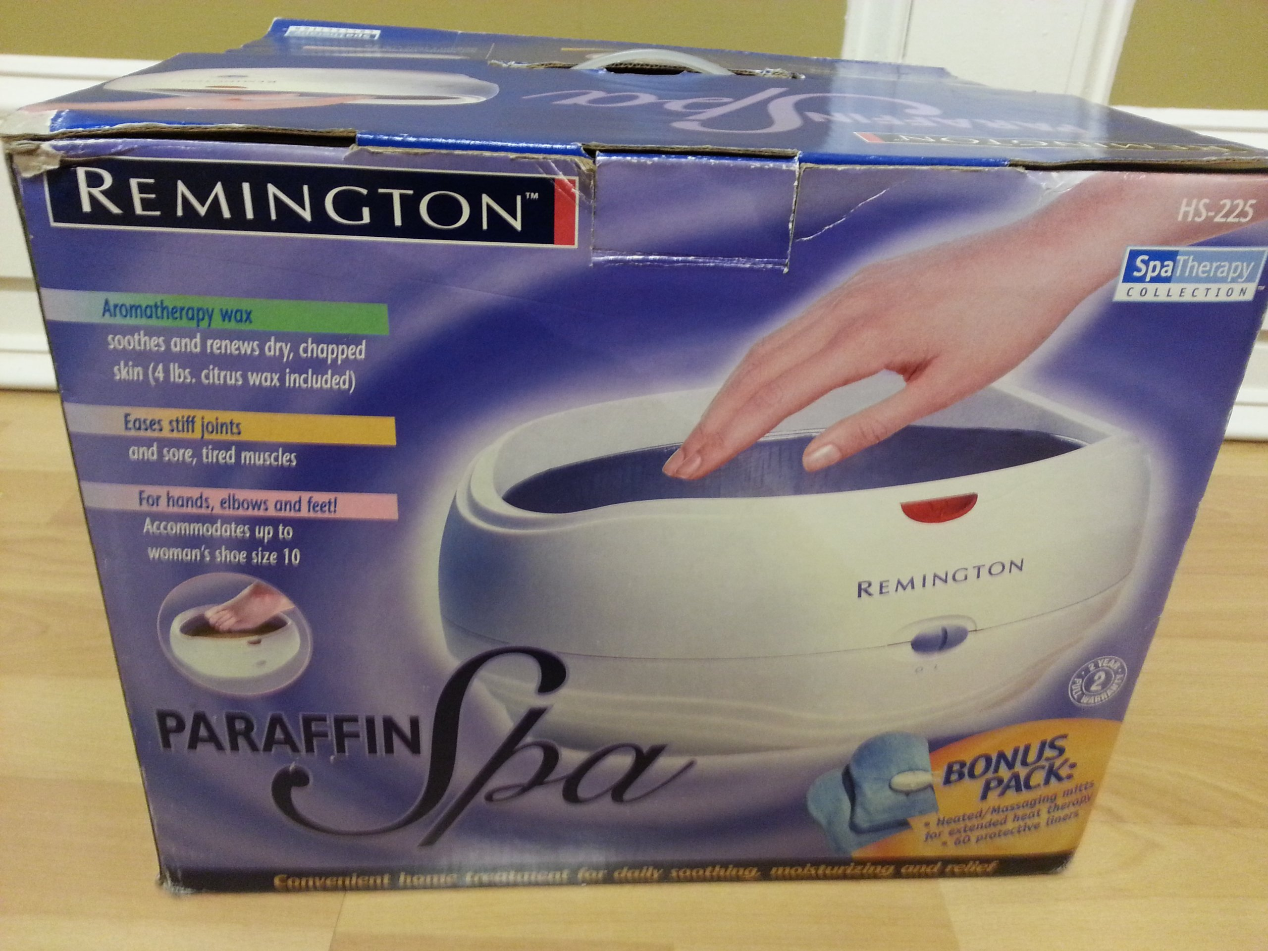 Remington Paraffin Spa Spa Therapy Collection HS-225 by Remington (Image #1)