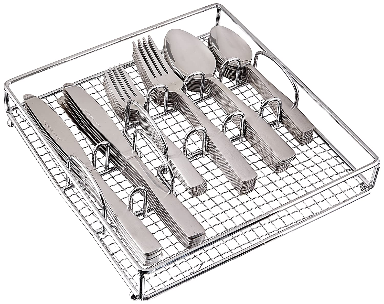 Gibson Home 69937.61 Abbevile 61-Piece Flatware Set