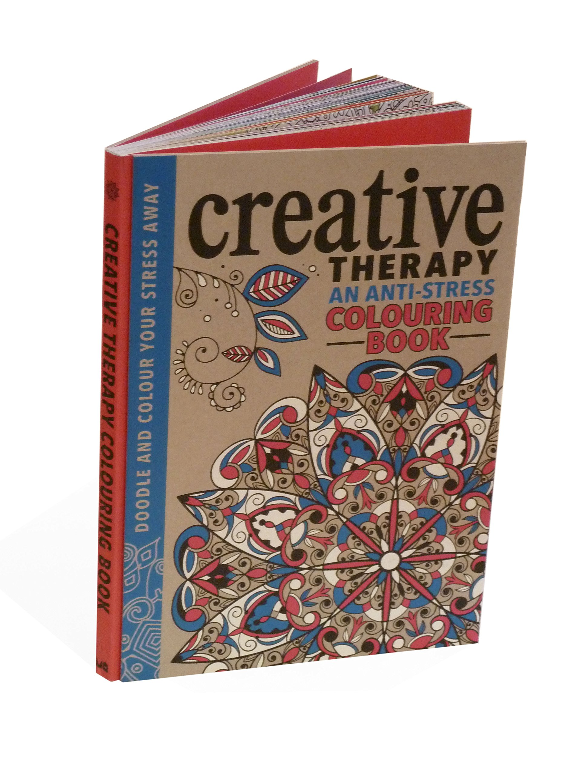 The Creative Therapy Colouring Book For Grown Ups Amazoncouk Hannah Davies Richard Merritt Jo Taylor 9781782433002 Books