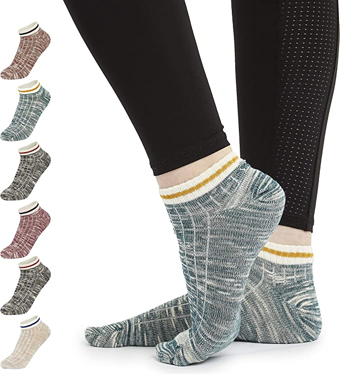 CityComfort Calcetines Mujer, Pack de 7 Pares Calcetines Cortos ...