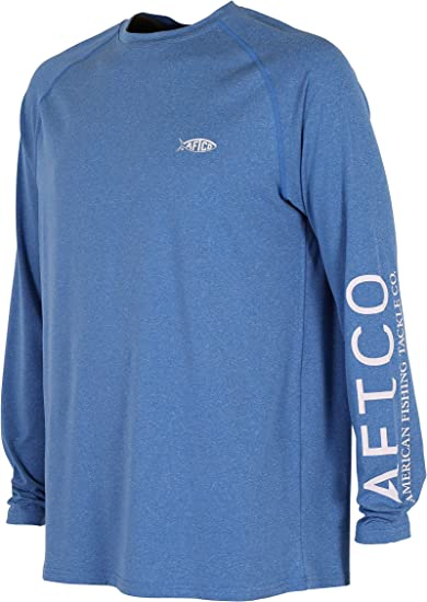 Sky XL AFTCO Samurai Performance Long Sleeve Shirt