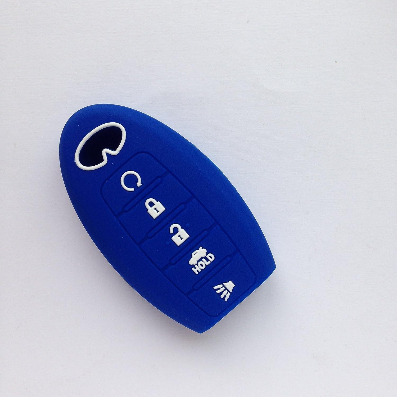 3pcs Fob Remote Smart Key Case Cover Jacket for INFINITI JX35 QX60 QX80 Keyless