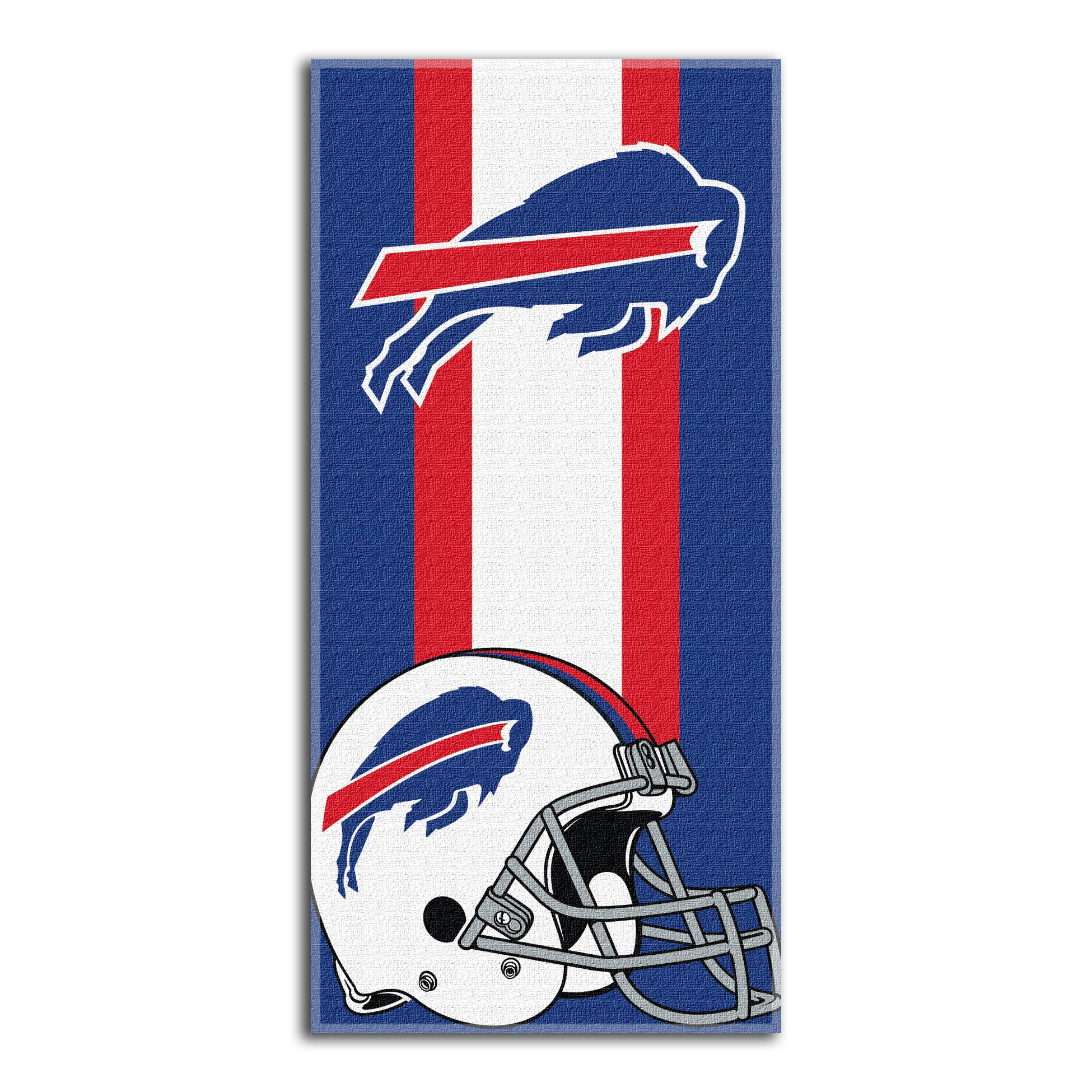 The Northwest Company Officially Licensed NFL Buffalo Bills Zone Read Beach Towel, 30'' x 60''
