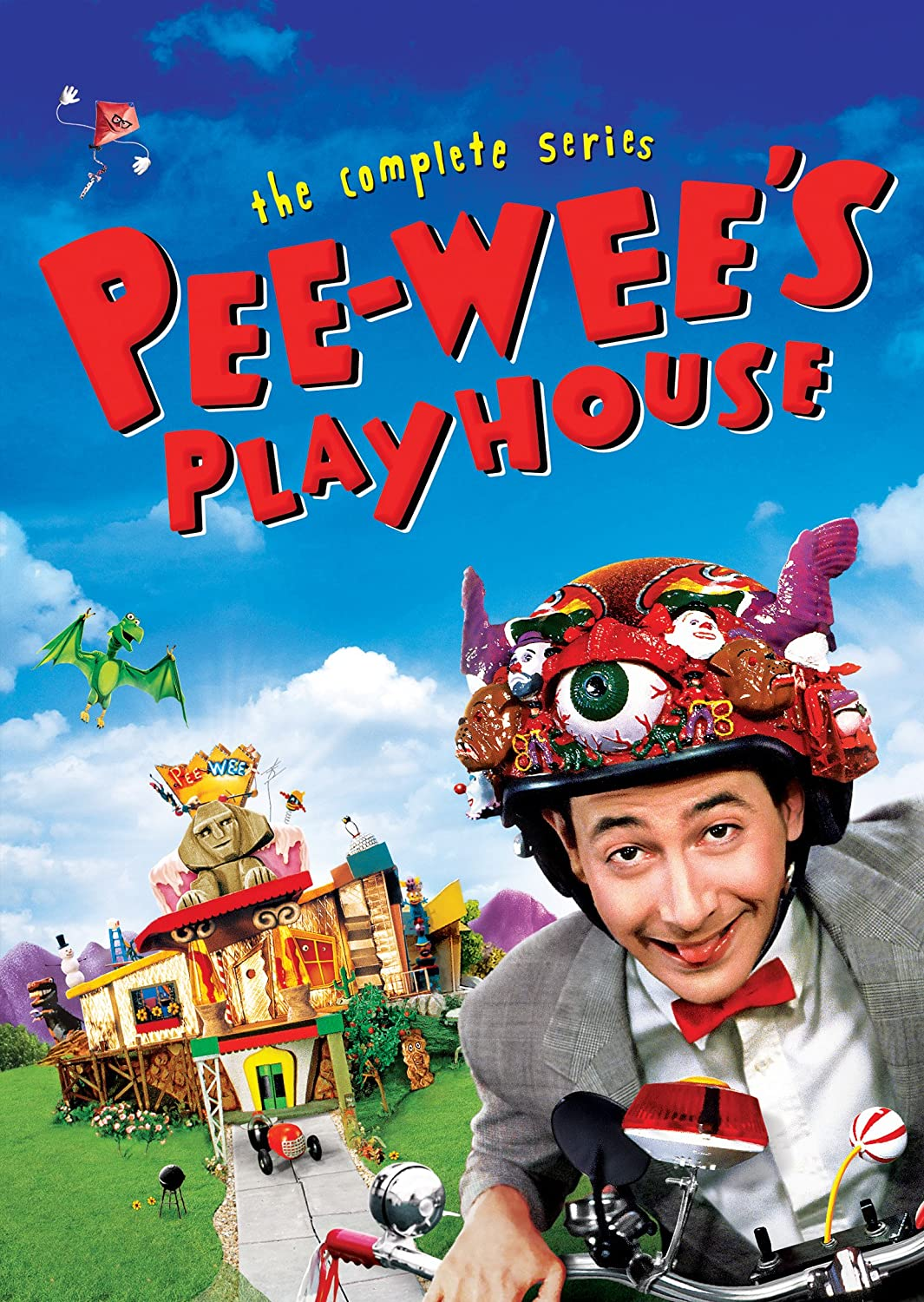 Pee-Wee's Playhouse: The Complete Series: Amazon.co.uk: DVD & Blu-ray