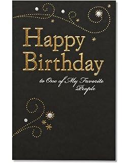 Amazon Com American Greetings Hope Peace Joy Birthday Card With